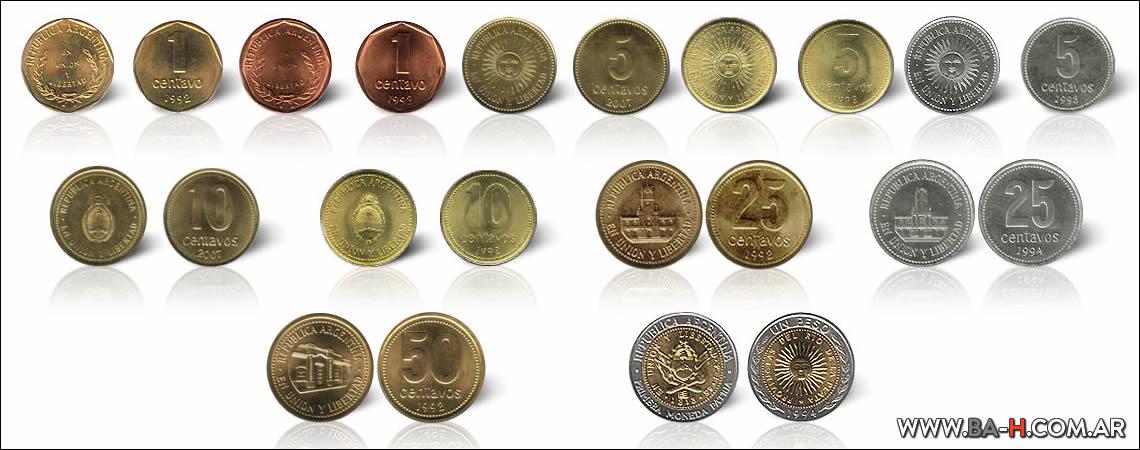 Monedas y billetes de Argentina