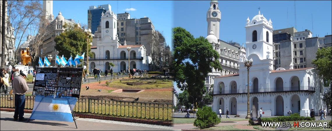 Casco histórico de Buenos Aires: El Cabildo de Buenos Aires