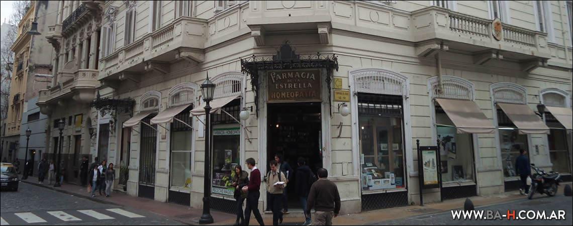 Casco histórico de Buenos Aires: Farmacia De La Estrella