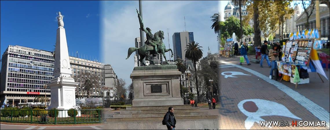 Casco histórico de Buenos Aires: Plaza de Mayo