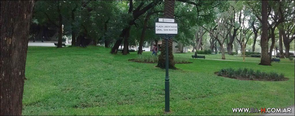 La Plaza San Martín, espacios verdes en Buenos Aires