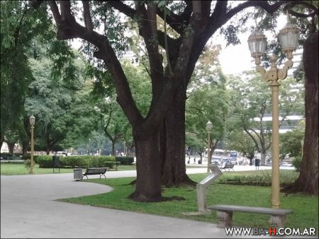 Paseando por la Plaza San Martín
