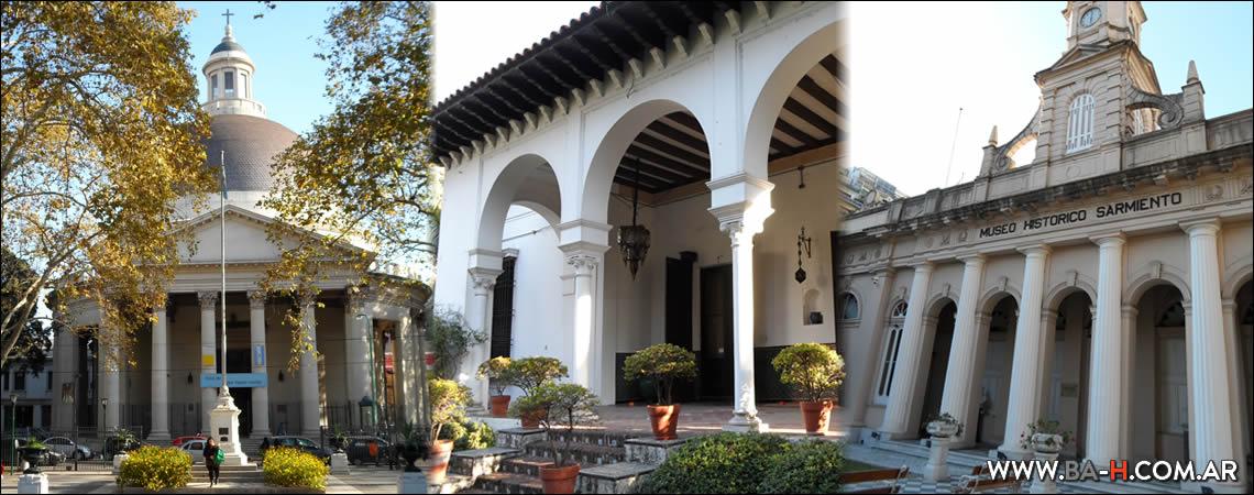 Recorrido a pie por Belgrano: La Redonda, Museo Sarmiento, Museo Larreta